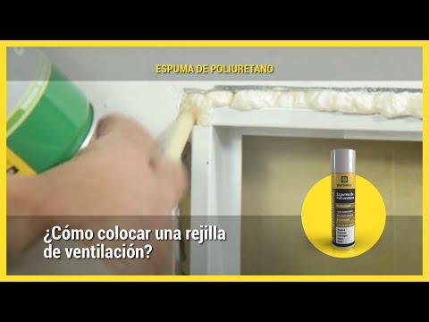 Aplicaci n colocaci n rejilla de ventilaci n youtube - Rejillas de ventilacion ...