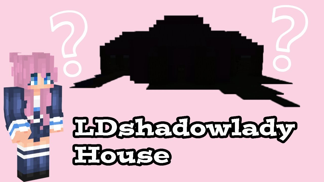 Building a minecraft house for @LDShadowLady - YouTube