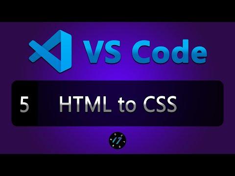 #5 Аналог CssFier для VS Code, расширение VS HTML To CSS для VS Code