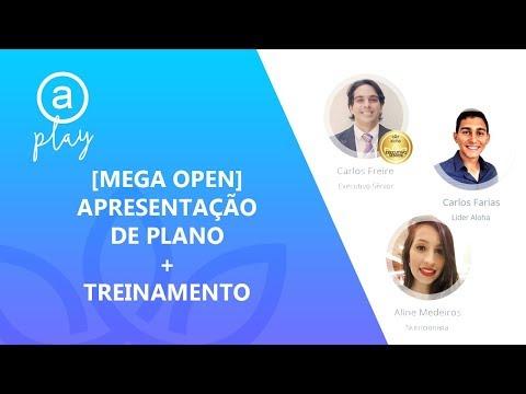 Mega Open com Carlos Freire / Carlos Farias / Aline Medeiros
