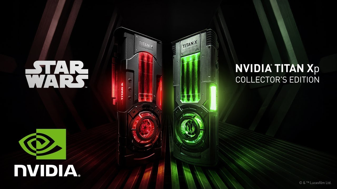 Star Wars Collector's Edition Graphics Cards | NVIDIA GeForce TITAN Xp