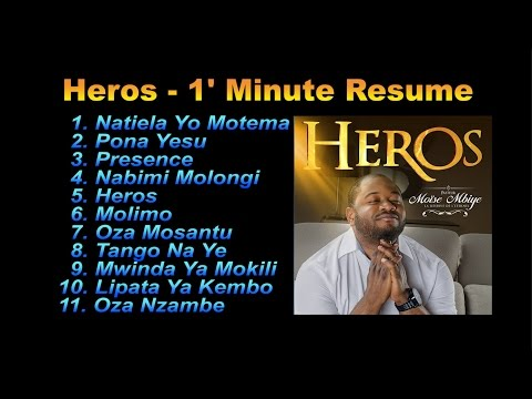 Moise Mbiye - Album Heros Mix