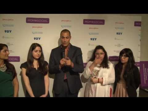 Julie Zeilinger, Nigel Barker, Saba Ismail, and Ines Renique: Mom + Social