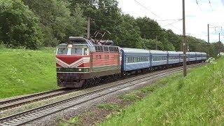 [БЧ] Электровозы БКГ1-004 и ЧС4т-603 / [BCh] BKG1-004 and CS4t-603 electric locos
