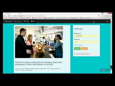 Traveller - A JAVA Based Web App for airline passengers.