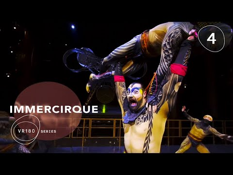 KÀ Fight Scene Wrestling in VR180 | IMMERCIRQUE Episode 4 |