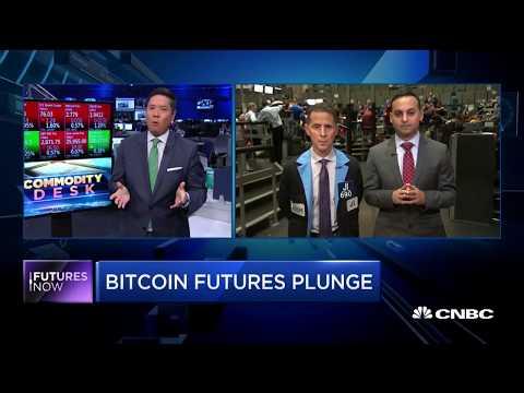 Futures Now: Bitcoin futures plunge