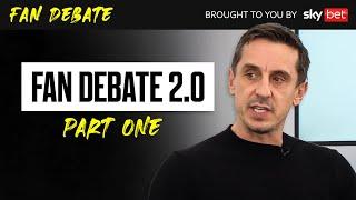 The Overlap Live Fan Debate 2.0: Gary Neville, Jamie Carragher & Paul Scholes | PL Returns Part 1 screenshot 4