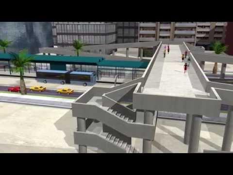 Dar Rapid Transit - BRT System (3D Simulation)