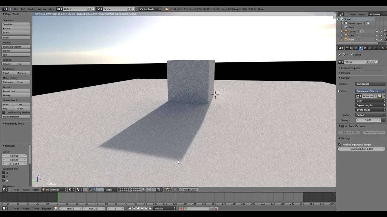 Blender HDRI Tutorial: Cycles - Hyperfocal Design