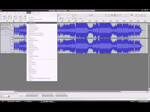 Como Acelerar una Cancion y subirle el volumen con Audacity