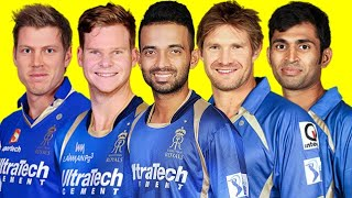 Vivo IPL 2018 || Rajasthan Royals team full and final team squad || 25 players including team new