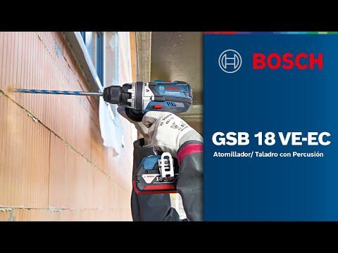 Atornillador/ Taladro con Percusión Inalámbrico 18V GSB 18 VE- EC