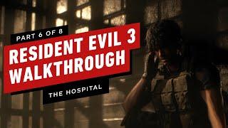 Resident Evil 3 Walkthrough - The Hospital (Part 6)