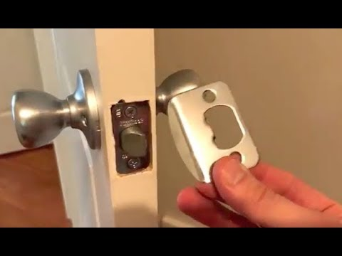 how-to-install-a-standard-door-knob---fast-&-easy!