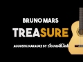 Bruno Mars - Treasure (Acoustic Guitar Karaoke Version)