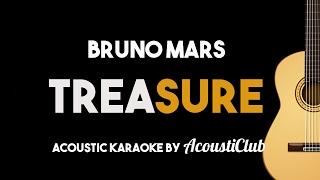 Bruno Mars - Treasure (Acoustic Guitar Karaoke)