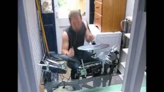 Seth Lakeman Kitty Jay - Live Drum Track on Roland TD9KX