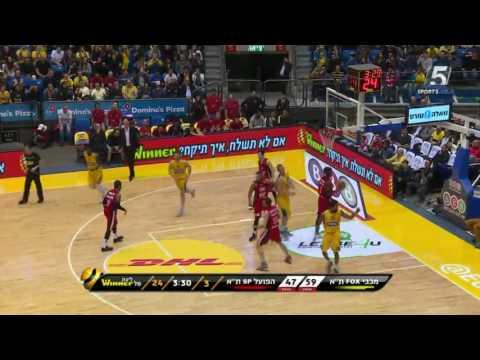 Highlights: Maccabi FOX Tel Aviv - Hapoel Tel Aviv