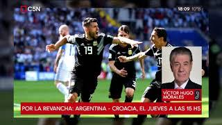 Argentina no pudo con Islandia: la opinión de Víctor Hugo