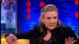 Carrie Fisher Denies Having Sex with Harrison Ford - sort of  - JONATHAN ROSS 3/2016