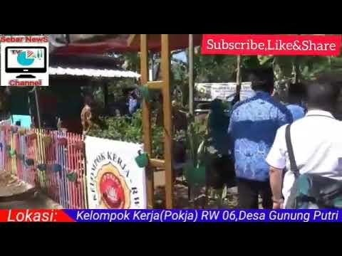 Inilah kampung tangguh Lodaya,Desa Gunung Putri,Kecamatan ...