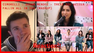 Cimorelli: Shawn Mendes - Treat You Better / Fallin All In You (MASHUP) | WestonVlogs Reacts!!!