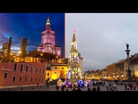 Warsaw, Christmas Market, Poland 🇵🇱