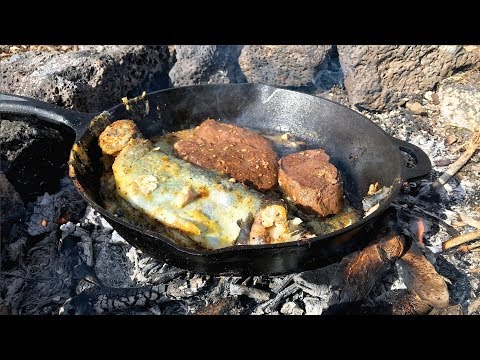 CATCH CLEAN & COOK RAINBOW TROUT