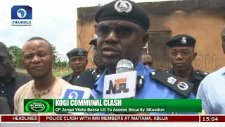 Fleeing Kogi Residents Assured Of Safety By Police |News Across Nigeria|