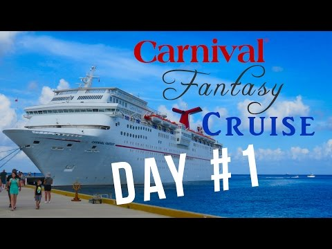 """Embarkation Day"" Carnival Fantasy Cruise 2016 