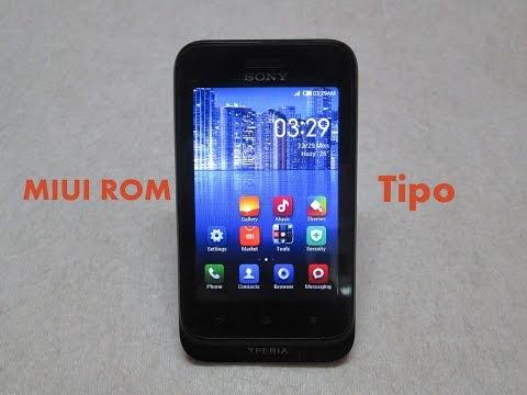MIUI ROM - Sony Xperia Tipo