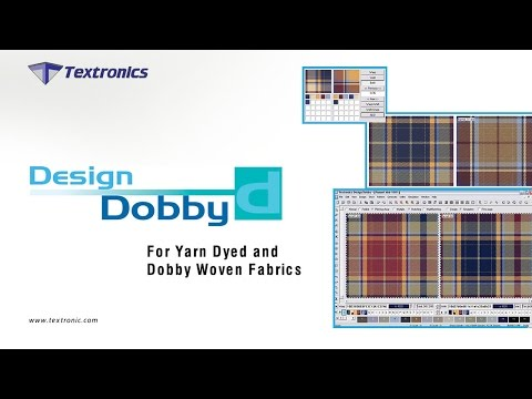 Design Dobby, Dobby Weaving CAD 2D / 3d Software for Textile Designing