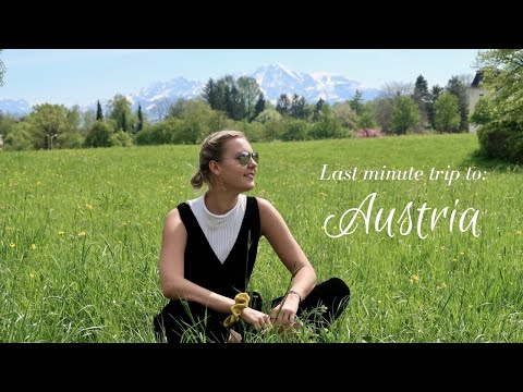 WEEKEND IN AUSTRIA | study abroad travel with me