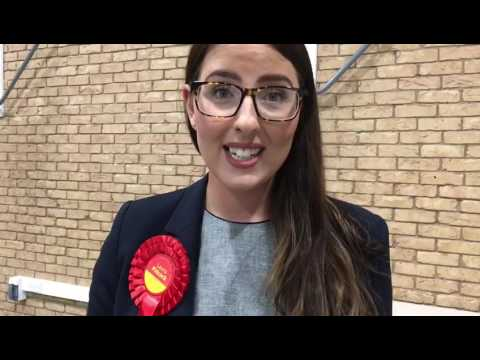 General Election 2017 - North West Durham candidate Laura Pidcock