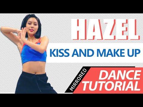 [ Mirrored ] DANCE TUTORIAL : DUA LIPA & BLACKPINK - Kiss And Make Up