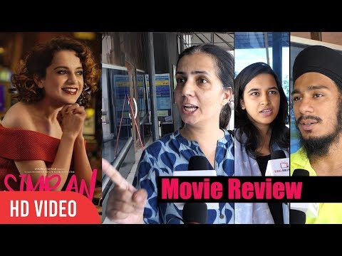 Simran Movie Public Review | First Day First Show | Kangana Ranaut Movie Review