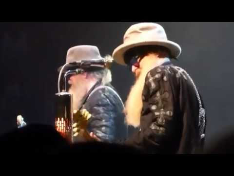 "ZZ Top - ""Just Got Paid"" w: Song Opening Stage Banter  LIVE!  CC Melody Tent  Hyannis MA  08 28 18"