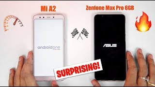 Xiaomi Mi A2 vs 6GB Zenfone Max Pro M1 - Speedtest & RAM Management! [SURPRISING END] 🔥