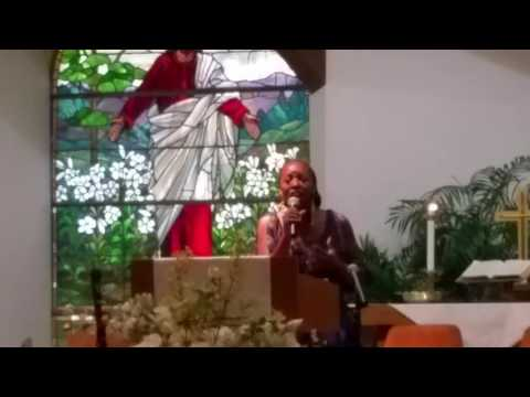 """Jeriann Price Singing """"For Your Glory"""" For Manny Boger"""