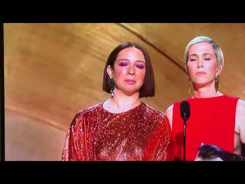 Kristen Wiig & Maya Rudolph - They SANG At The Oscars 2020