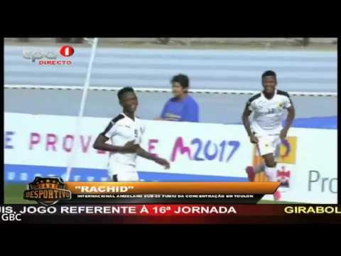 """""""Rachid"""" Internacional angolano sub 20 fugiu da concentração em Toulon, França"""