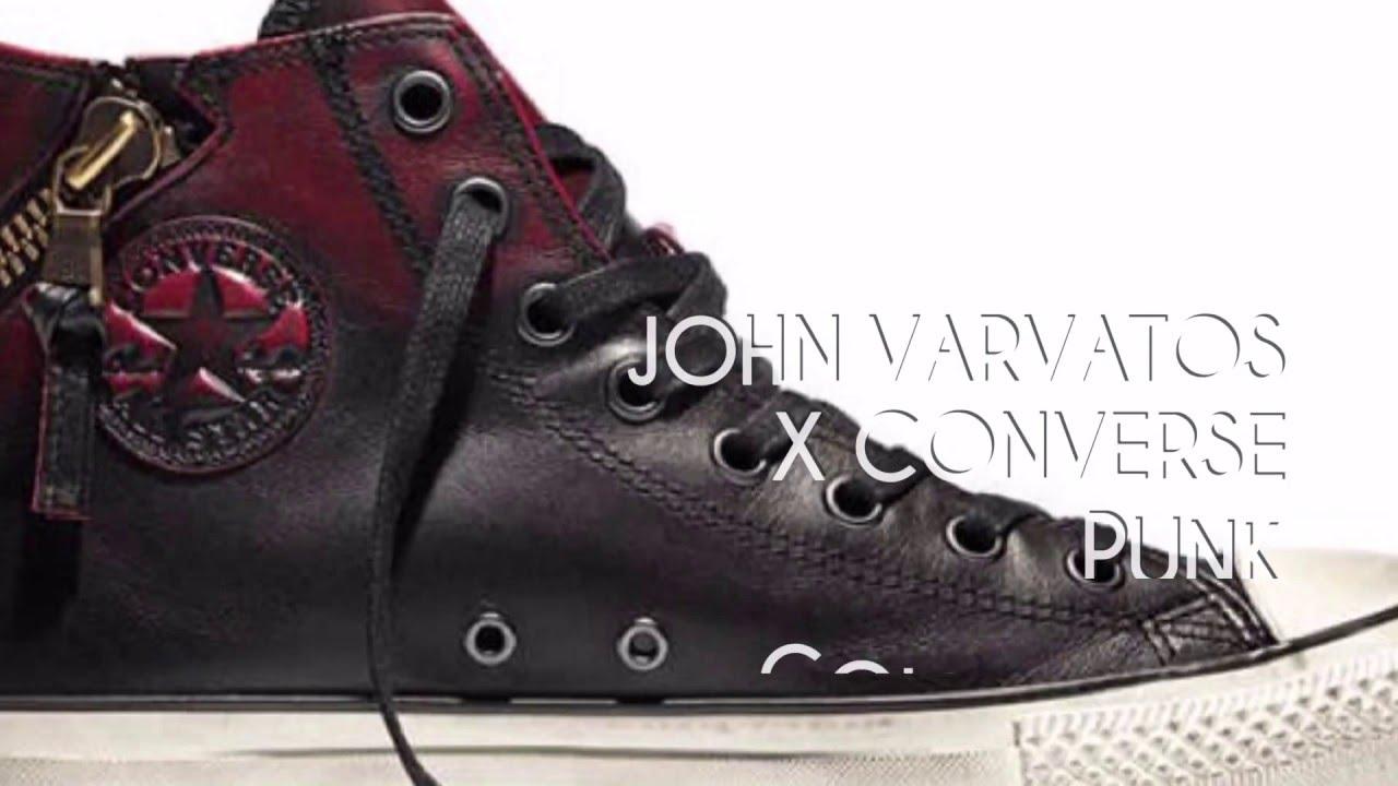 JOHN VARVATOS x CONVERSE PUNK COLLECTION SNEAKERS STAR