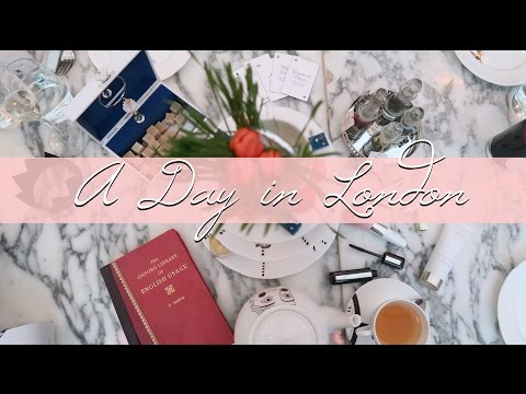 Come Around London With Me! Afternoon Tea, Shopping & More!