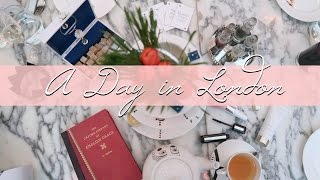 Come Around London With Me! Afternoon Tea, Shopping & More!       Fashion Mumblr VLOGTOBER