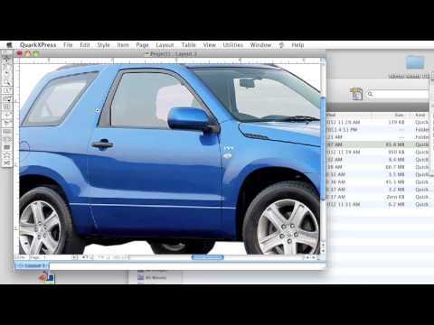 QuarkXpress - Remove photo background