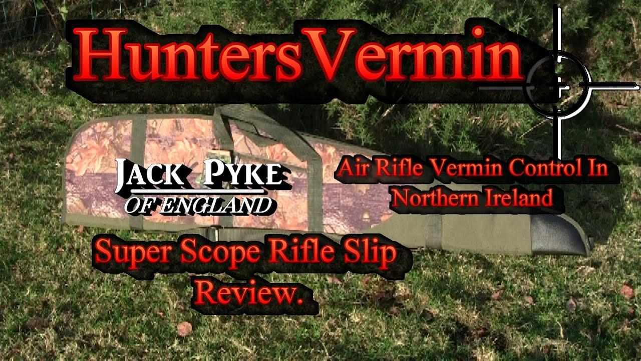 JACK PYKE NEOPRENE SCOPE COVER SHOOTING AIRGUN RIFLE HUNTING SHOOTING RIMFIRE