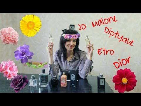 Весенний обзор! Jo Malone, Diptyque, Dior, Etro,Atelier Cologne ,The Different Company