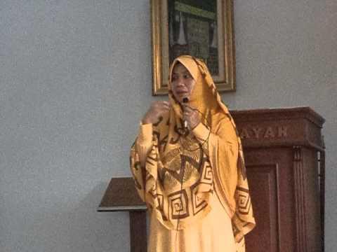 Ceramah Ustadzah Rida Farida  dari Paku Jaya, di GMS