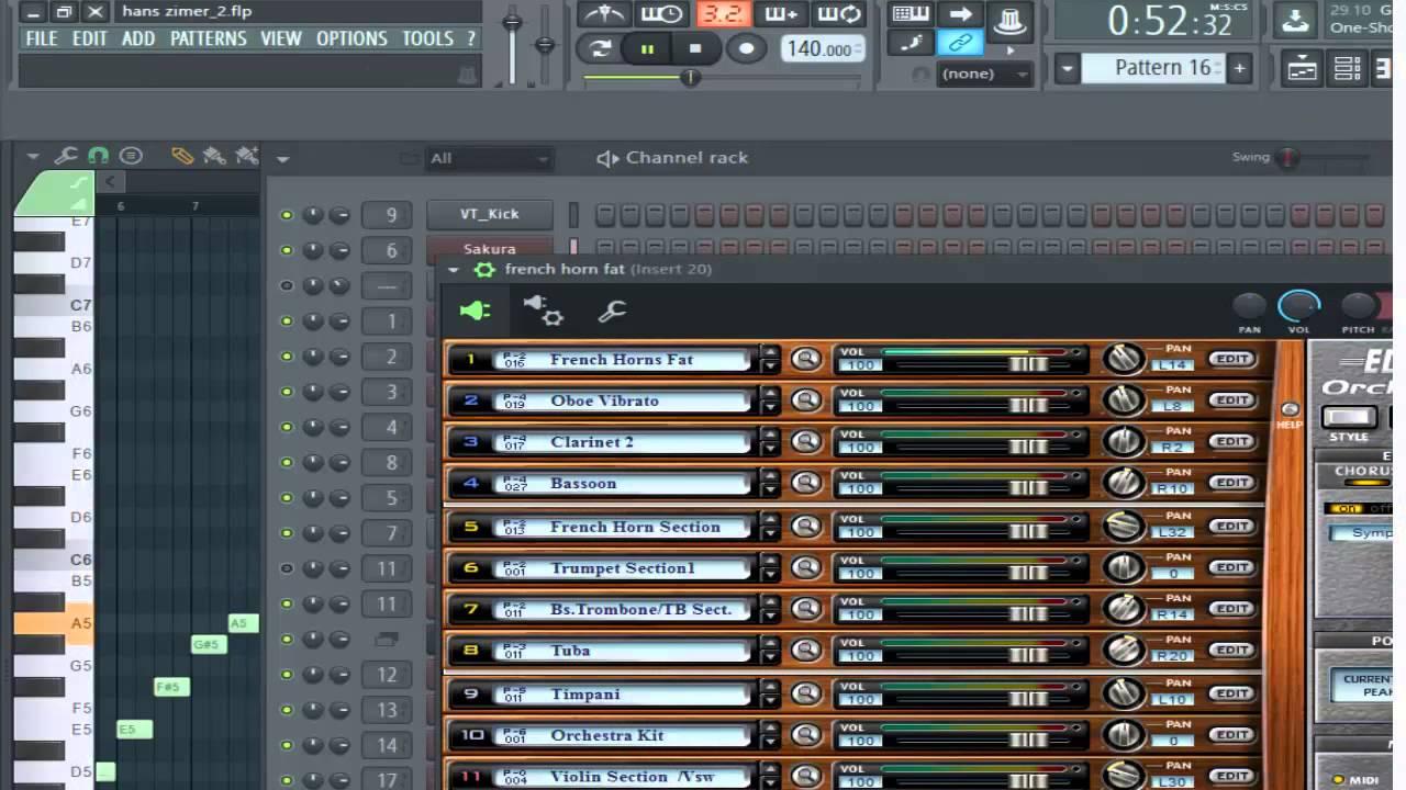 epic movie score edirol orchestral vst fl studio podrum beats youtube